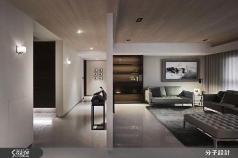大器格局,自然材質演繹,貼心打造三代同堂舒適好宅
