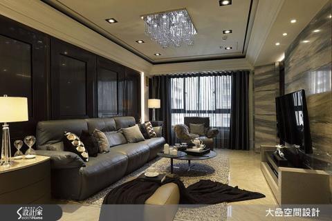 灰黑白圓舞曲 讓31坪中古屋變身時尚奢華宅