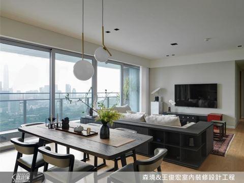 裝修微革命,讓家具、家飾、空間密不可分,飽覽都會美景宅