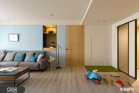 發揮空間優勢 為孩子打造北歐風格的遊戲場