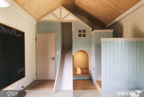 溫馨鄉村風格 打造小孩房活潑童趣的生活個性