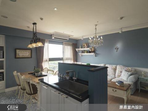 最有互動感的家!用丁香藍打造 20 坪鄉村浪漫即景