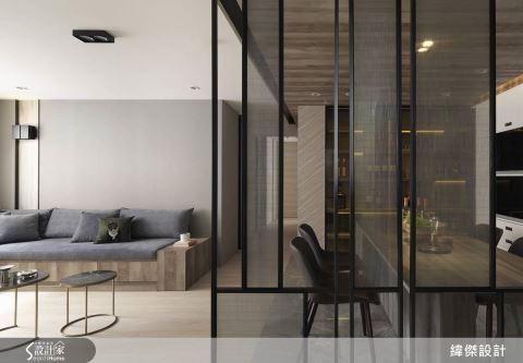 具整體感的專業調配  優化更適性的28坪國宅老屋