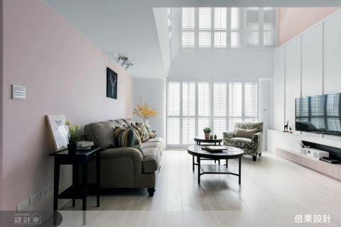 以簡約白色基調 打造純淨無壓美式健康宅