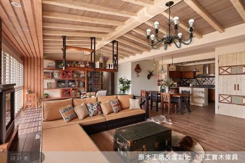 理想寵物宅裝修の道:環保建材、美形收納、實木家具