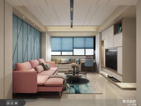 用色彩讓設計打入人心,隱藏機關為20坪小家爭取更多坪效!