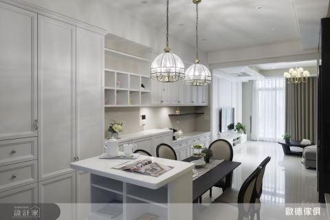 系統家具也能優雅好時尚!一次收服一家三口的美式透天宅