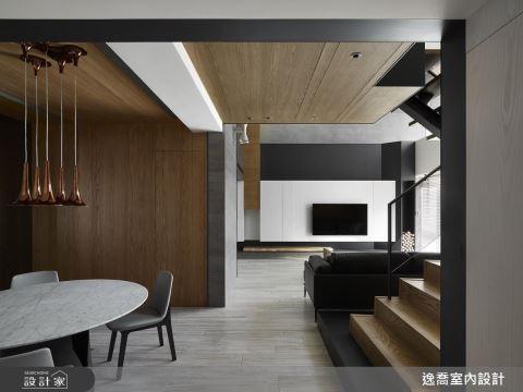 讓黑白灰的線條與色塊,創造理想的三代同堂居宅