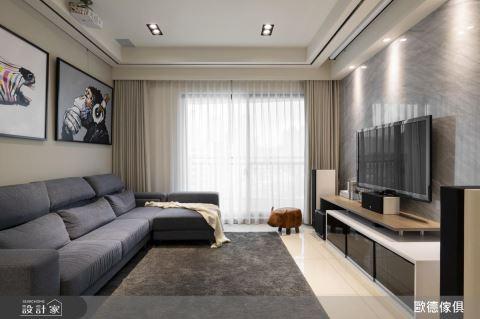 系統家具躍升美學風格巧手 打造一家四口最療癒的現代私宅
