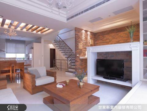 一代一層的透天別墅!紅磚牆改造三代同堂的居家動線