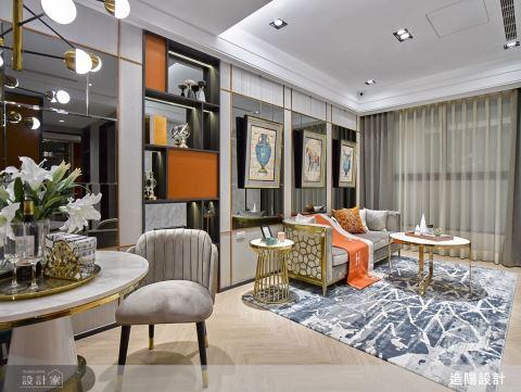 鎏金泛彩經典橘,演繹法式精品時尚宅
