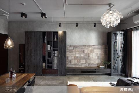 小清新也愛的工業風居家!木地板貼牆壁就是這麼潮