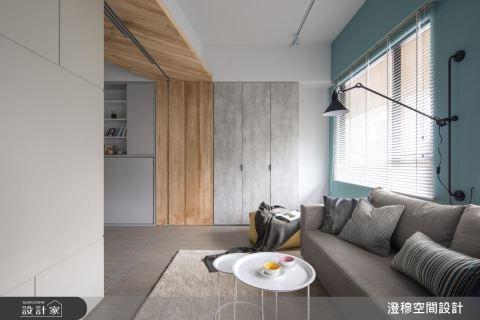 移動式隔間牆 居家工作室的完美範本