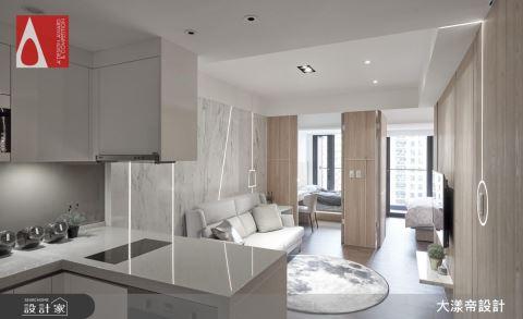 坪數有限,還是要有更衣室!家徒四壁變七大空間的神級裝修