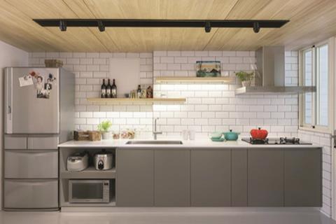 【好廚房你可以這樣設計】一字型廚房可以這樣做