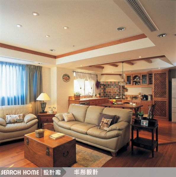 40坪新成屋(5年以下)_鄉村風案例圖片_丰彤設計_丰彤_21之2