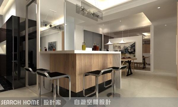 40坪新成屋(5年以下)_現代風案例圖片_自遊空間設計_自遊空間_10之3