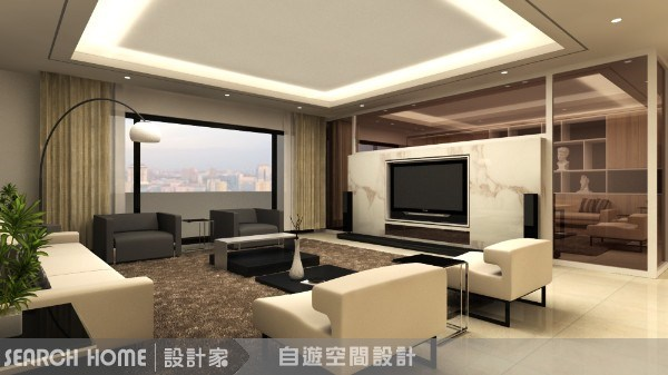 62坪新成屋(5年以下)_休閒風案例圖片_自遊空間設計_自遊空間_09之1