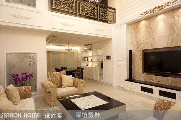 120坪新成屋(5年以下)_新古典案例圖片_采坊室內設計_采坊_04之4