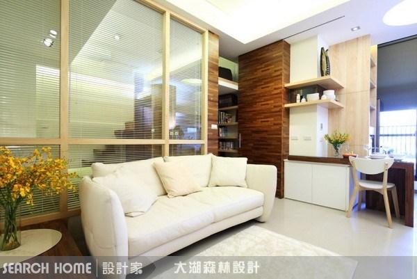 15坪新成屋(5年以下)_混搭風客廳案例圖片_大湖森林室內設計_大湖森林_04之3