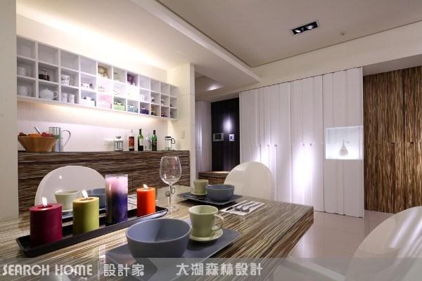 35坪新成屋(5年以下)_現代風餐廳案例圖片_大湖森林室內設計_大湖森林_03之3