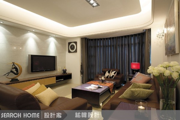 42坪新成屋(5年以下)_現代風案例圖片_晴境設計_晴境設計_02之1