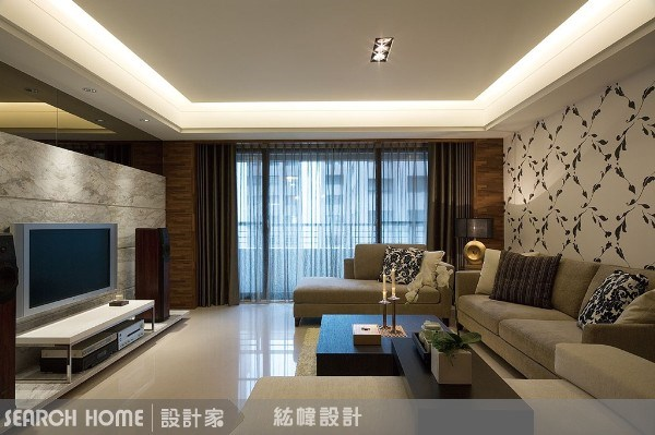 45坪新成屋(5年以下)_混搭風案例圖片_晴境設計_晴境設計_07之4