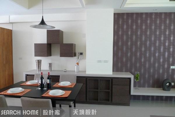 50坪新成屋(5年以下)_現代風餐廳案例圖片_天境空間設計_天境_08之2