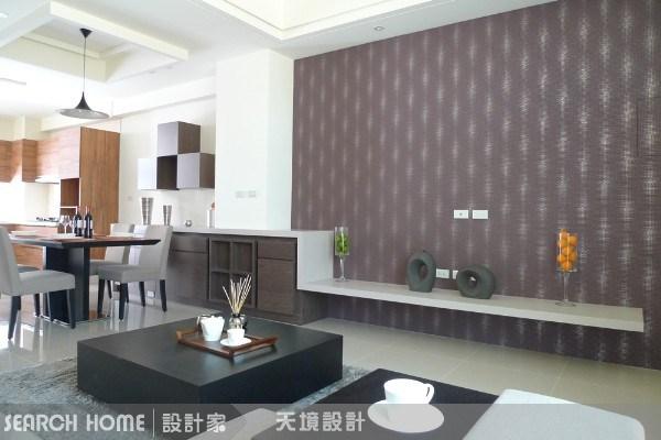 50坪新成屋(5年以下)_現代風餐廳案例圖片_天境空間設計_天境_08之1