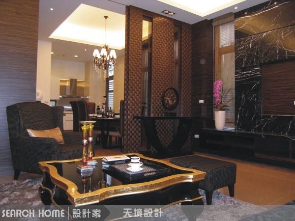 130坪新成屋(5年以下)_奢華風客廳案例圖片_天境空間設計_天境_06之4