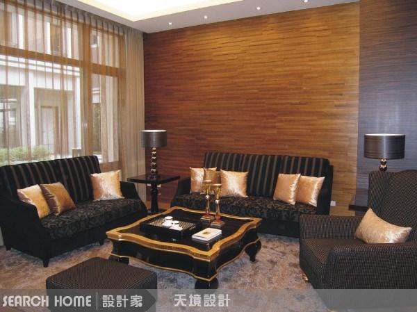 130坪新成屋(5年以下)_奢華風客廳案例圖片_天境空間設計_天境_06之1