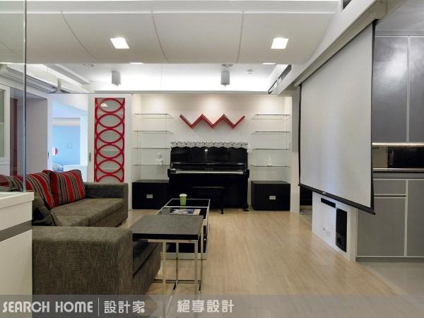 29坪新成屋(5年以下)_現代風客廳案例圖片_絕享設計_絕享_28之3