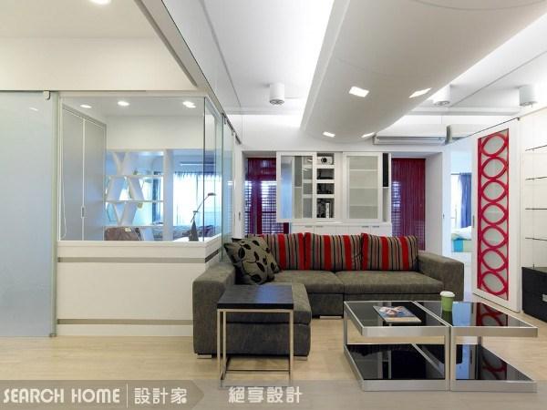 29坪新成屋(5年以下)_現代風客廳案例圖片_絕享設計_絕享_28之4
