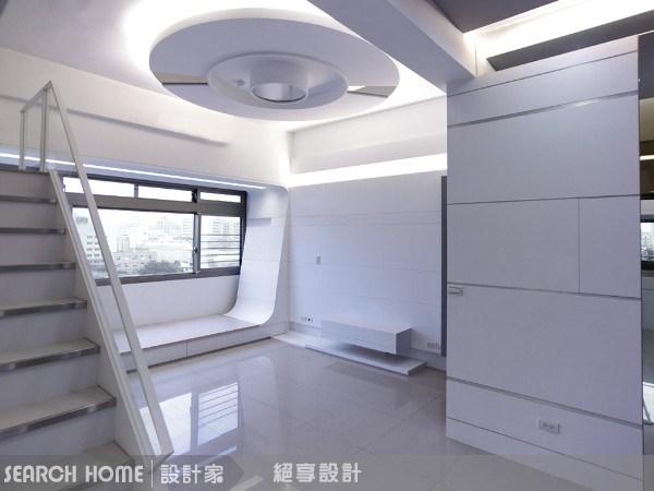 25坪新成屋(5年以下)_現代風客廳案例圖片_絕享設計_絕享_27之3