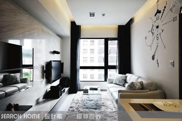 17坪新成屋(5年以下)_現代風案例圖片_權釋設計_權釋_60之1