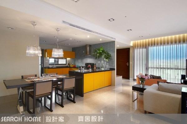 20坪新成屋(5年以下)_現代風餐廳案例圖片_齊舍設計事務所_齊舍_03之4