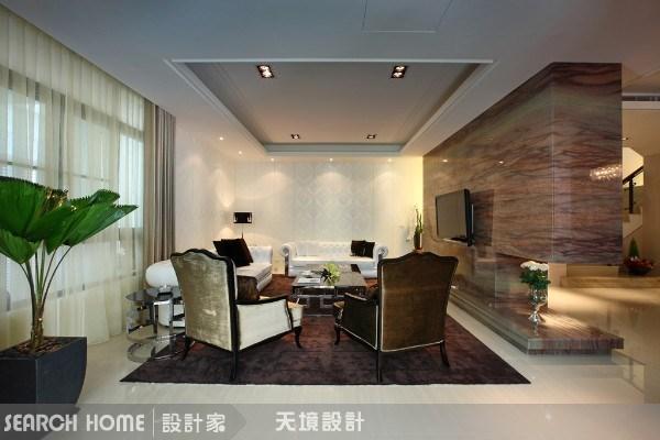 160坪新成屋(5年以下)_奢華風客廳案例圖片_天境空間設計_天境_05之2