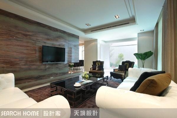 160坪新成屋(5年以下)_奢華風客廳案例圖片_天境空間設計_天境_05之3