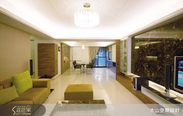 70坪新成屋(5年以下)_現代風案例圖片_大山空間設計_大山_05之2