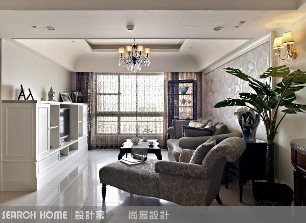 40坪新成屋(5年以下)_美式風客廳案例圖片_尚展空間設計_尚展_20之1