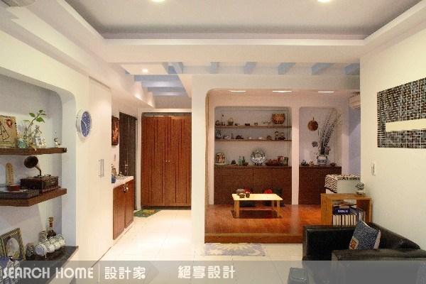32坪新成屋(5年以下)_鄉村風客廳案例圖片_絕享設計_絕享_24之2