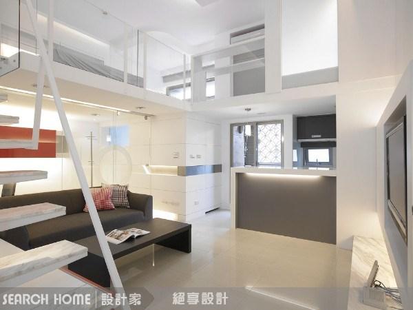 15坪新成屋(5年以下)_現代風客廳案例圖片_絕享設計_絕享_23之1