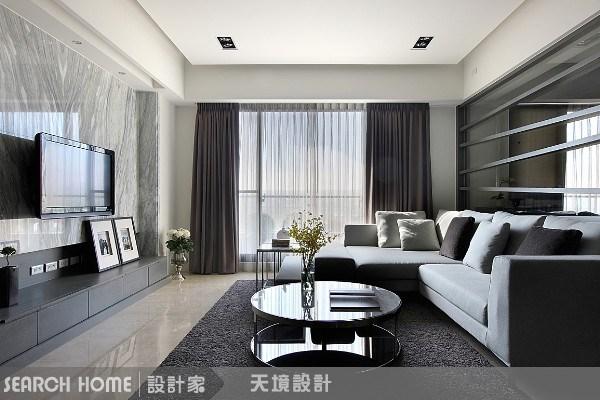 43坪新成屋(5年以下)_現代風客廳案例圖片_天境空間設計_天境_03之3