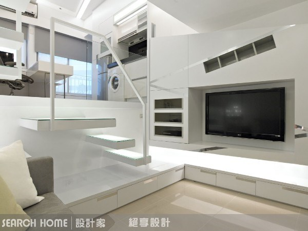 7坪新成屋(5年以下)_現代風客廳案例圖片_絕享設計_絕享_22之3