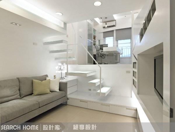7坪新成屋(5年以下)_現代風客廳案例圖片_絕享設計_絕享_22之2