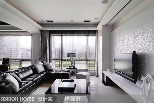 40坪新成屋(5年以下)_奢華風案例圖片_IF室內設計_IF室內設計_01之1