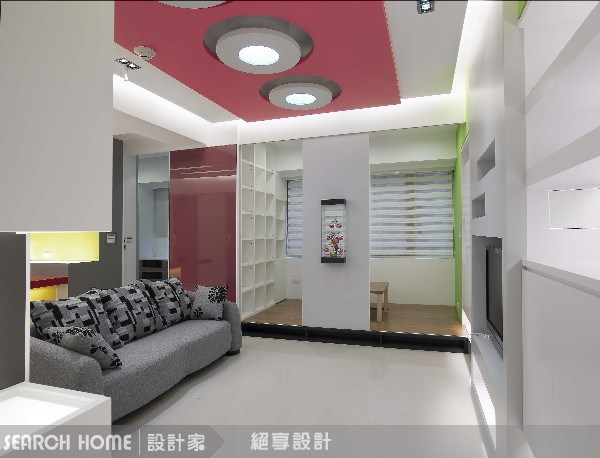 24坪新成屋(5年以下)_現代風客廳案例圖片_絕享設計_絕享_18之4