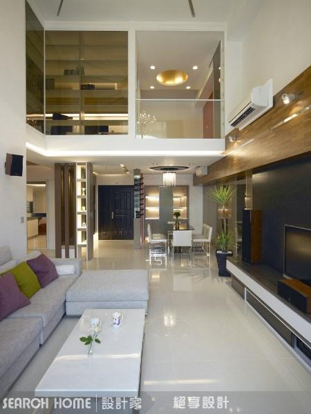 60坪新成屋(5年以下)_休閒風客廳案例圖片_絕享設計_絕享_15之3