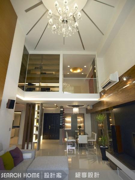 60坪新成屋(5年以下)_休閒風客廳案例圖片_絕享設計_絕享_15之4