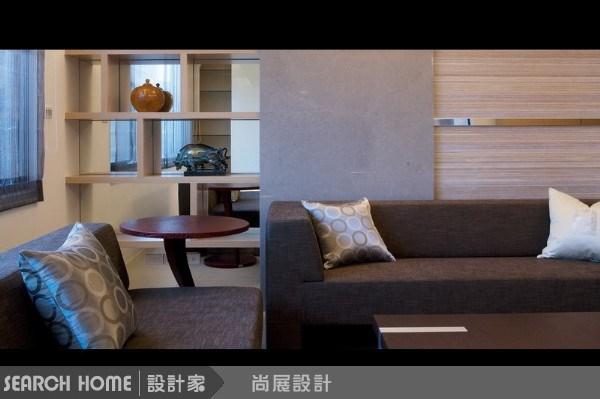 60坪新成屋(5年以下)_休閒風客廳案例圖片_尚展空間設計_尚展_17之4
